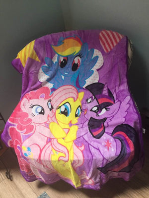 MLP My Little Pony Silk Touch Throw Blanket - Personalized