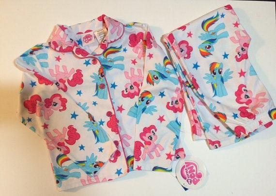 My Little Pony Rainbow Dash and Pinkie Pie Girls pajamas