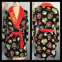 Boys Super Mario Brothers Robe - Personalized Monogrammed