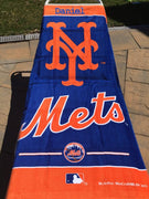 MLB New York Mets Cotton Towel - Personalized