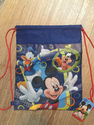 Mickey Mouse Drawstring Backpack Sling Bag – Personalized
