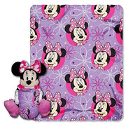 "Disney Minnie Mouse ""Minnie Bowtique"" Hugger and Throw Set- Personalized"