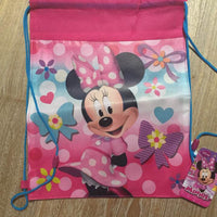 Minnie Mouse Drawstring Backpack Sling Bag – Personalized