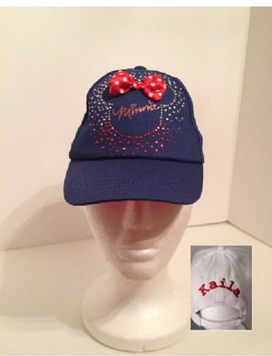 Disney Minnie Mouse Toddler Baseball Hat - Personalized