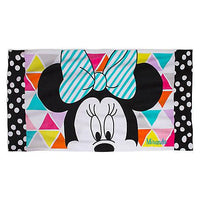 Oversize Minnie MOUSE 80's California Girl Beach Towel - Personalized