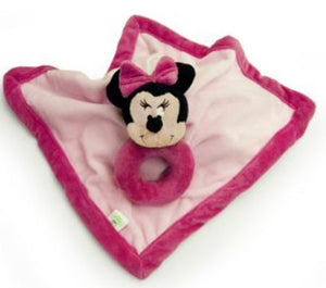 Minnie Mouse Snuggle Blankey Security Baby Lovey - Personalized