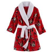 Disney's Minnie Mouse Toddler Girl Fleece Red Robe - Personalized Size 2T LAST ONE