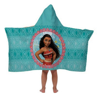 Disney's Moana hooded Bath Towel Wrap - Personalized