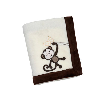 NoJo Dreamy Nights Fleece Blanket MONKEY Blanket 30