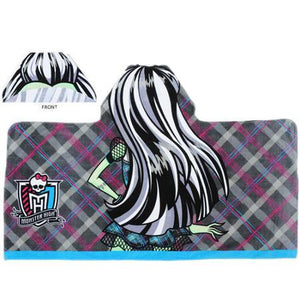 Monster High Frankie Stein Hooded Towel Wrap - Personalized