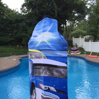 Nascar Hooded Towel Wrap - Personalized