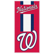 Baseball MLB Washington Nationals Beach Towel Personalized