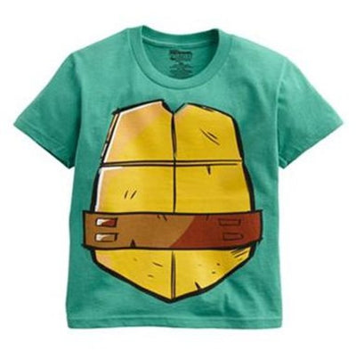 TMNT Teenage Mutant Ninja Turtles Costume Tee T-Shirt Boys 4-7