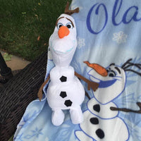 Frozen OLAF Hugger and Fleece Throw Set - Personalized