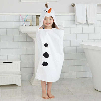 Disney's Frozen Olaf Hooded Bath Towel Wrap - Personalized