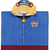 Paw Patrol Chase Hooded Poncho Bath Towel - Personalized