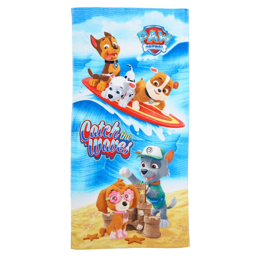 Paw Patrol Beach Towel - Personalized
