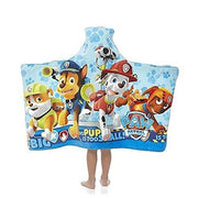 Paw Patrol Super Soft Hooded Beach Towel Bath Towel Wrap - Personalized