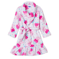 Peppa the Pig Toddler 3T Girl Robe - Personalized Monogrammed