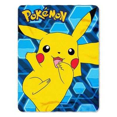 Pokémon Pikachu Fleece Throw Blanket - Personalized