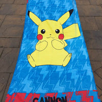 Pokemon Pikachu Beach Towel - Personalized