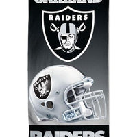 NFL Oakland RAIDERS Beach Towel Personalized