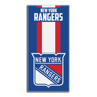 HOCKEY NHL New York RANGERS Beach Towel Personalized