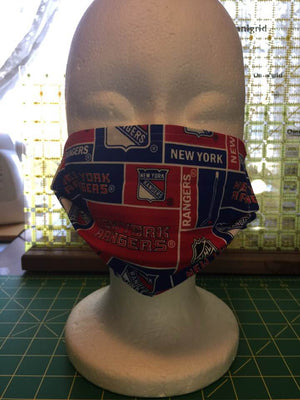 Face Covering - New York Rangers Hockey