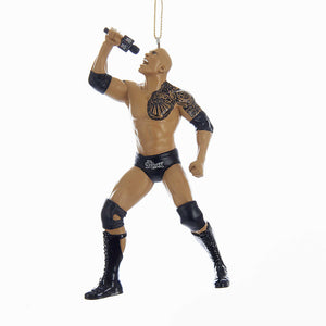 WWE Wrestling Ornament - The Rock Christmas Ornament