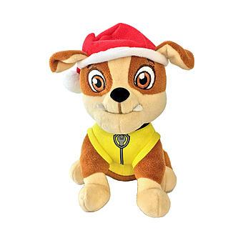 Nickelodeon Paw Patrol Rubble Plush Christmas Ornament