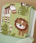 "Summer Infant Luxury Plush Blanket, Jungle Buddies 30""x 40"" - Personalized Monogrammed"