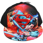 DC Comics Superman 3D S Logo Graphic Snapback Baseball Cap - Personalized