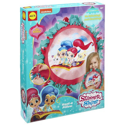 Alex Toys Shimmer and Shine Knot-A-Pillow