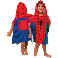 Spider-Man Hooded Poncho Towel – Personalized
