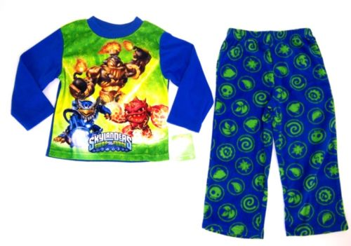 Slylander Swap Force Boys 2 Pc Fleece Pajamas Set Size 4