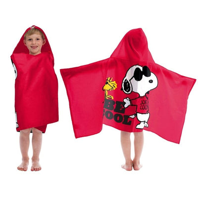 Peanuts SNOOPY Be Cool Hooded Towel Wrap - Personalized