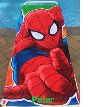Spider-Man Beach Towel Spidey Towel Ultimate - Personalized Beach Towel