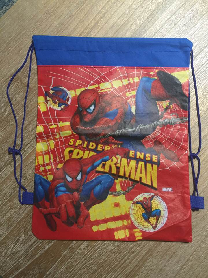 Spider-Man Drawstring Backpack Sling Bag – Personalized
