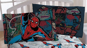 Marvel Spiderman Standard Pillowcase - Personalized