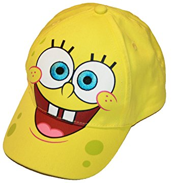 Spongebob SquarePants Baseball Cap - Yellow full face - Personalized