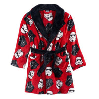 Boys 4-12 Star Wars Darth Vader Storm Troopers Fleece Robe - Personalized Monogrammed