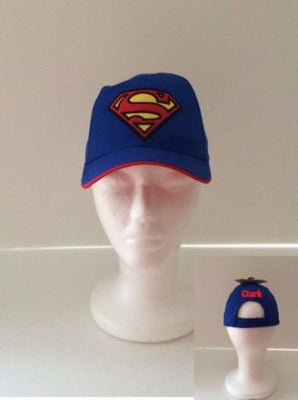 SUPERMAN Blue Toddler Baseball Cap - Personalized