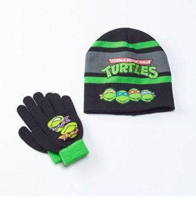 TMNT Teenage Mutant Ninja Turtles Hat & Glove Set - Personalized - Personalized