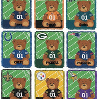 Personalized Football Teddy Bear Blanket Throw 9 NFL Teams - Personalized