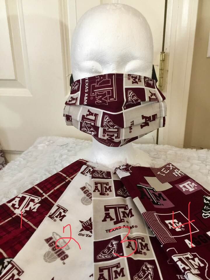 Face Covering - Texas A&M Limited Edition - Adult Size