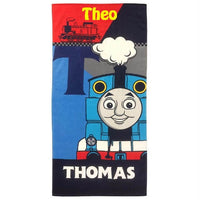 Thomas the Train Beach Towel - Personalized Beach Towel