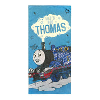 "Thomas and Friends ""Let's Go Thomas""  Beach Towel - Personalized"