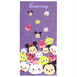 Disney Tsum Tsum Totes Adorbs Beach Towel - Personalized Beach Towel