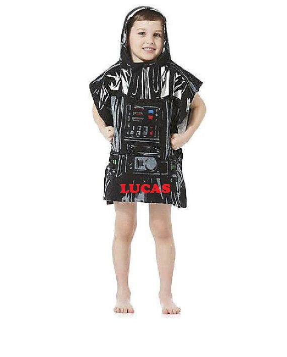 Star Wars Darth Vader Hooded Poncho Towel – Personalized