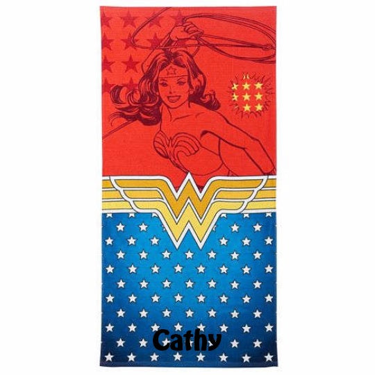 Wonder Woman Beach Towel - Personalized
